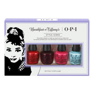 Collection Breafast At Tiffany's Kit 4 Mini Vernis