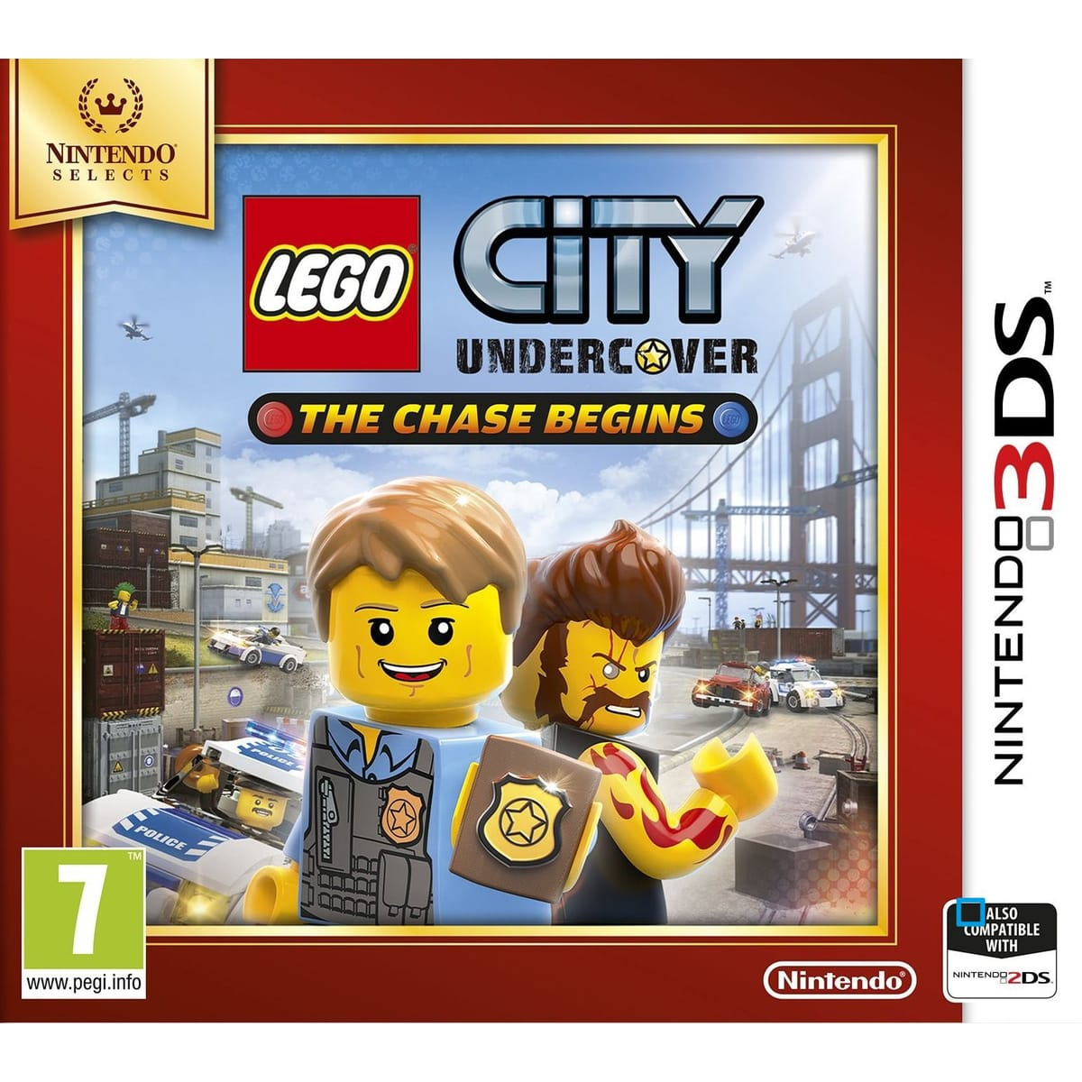 Lego City Undercover – The Chase Begins 3DS