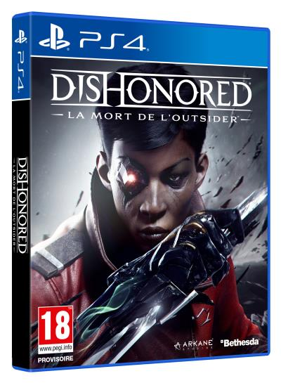 Dishonored La mort de l'Outsider PS4