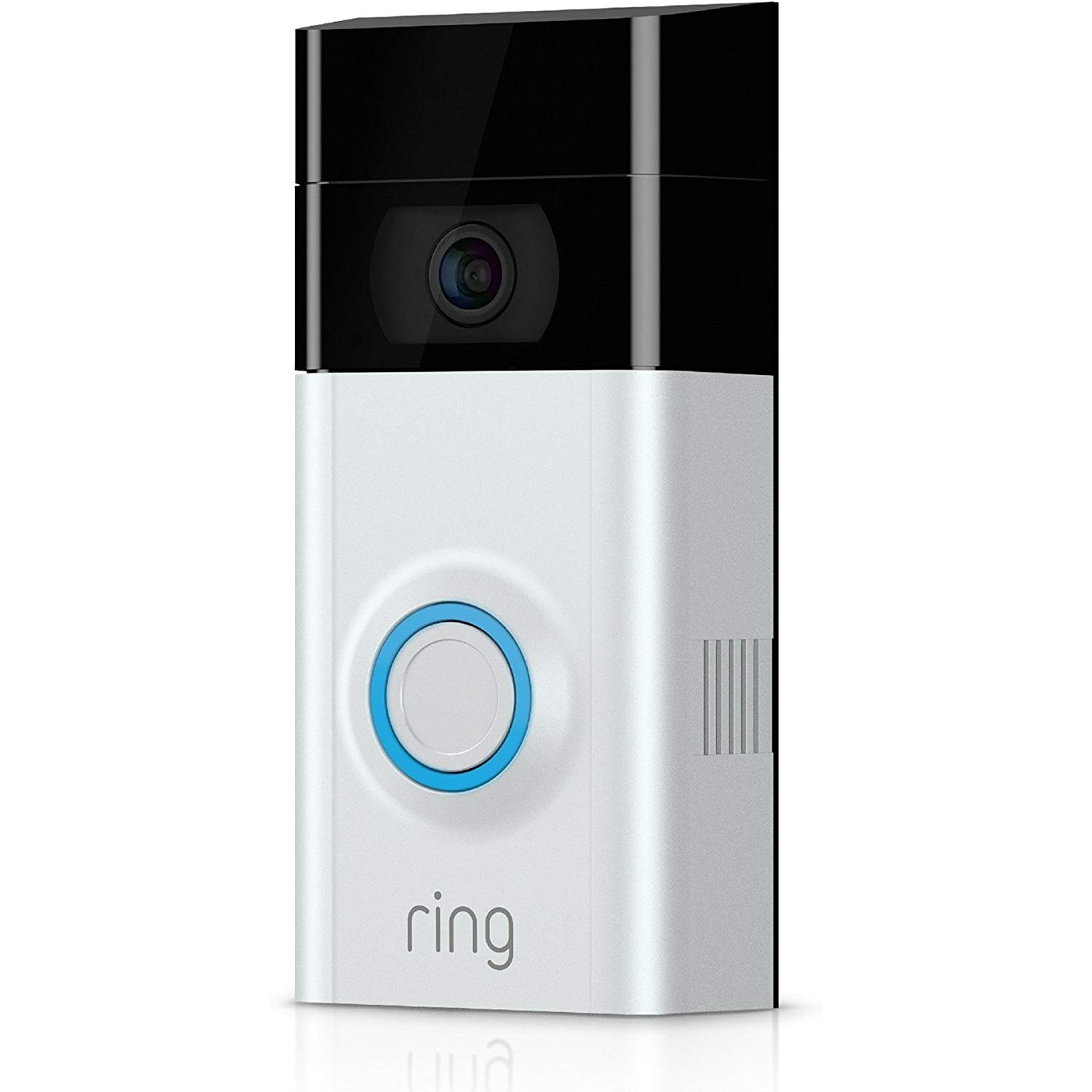 ring video doorbell 2 sonnette vid o 1080 hd avec syst me audio bidirectionnel d tection de. Black Bedroom Furniture Sets. Home Design Ideas