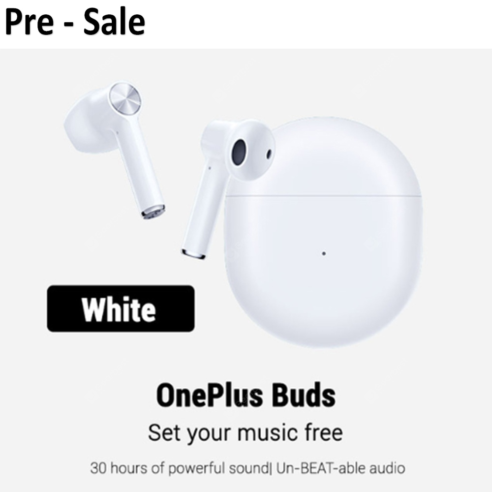 Pre-sale Oneplus Buds Bluetooth Headset Earphones Oneplus Earbuds – Grey