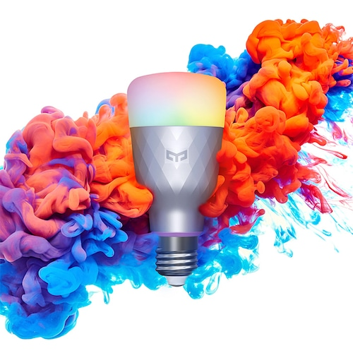 Yeelight 1SE E27 6W RGBW AC 100 – 240V Smart LED Bulb Colourful Light Version – White 1Pc