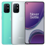 OnePlus 8T 5G Global Rom NFC Android 11 8 Go 128 Go Snapdragon865 6,55 pouces FHD + HDR10 + 120 Hz Écran AMOLED fluide 48MP Quad Camera 65W Warp Charge Smartphone – Silver