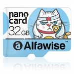 Alfawise 32GB Micro SD Class 10 UHS-1 Memory Card – LIGHT BLUE