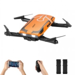 helifar H818 6 Axis Gyro Remote Control Quadcopter – ORANGE DUAL-BATTERY