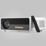 Alfawise Q9 BD1080P 40-300 inch Mirroring Screen 4K Smart Projector with High Brightness – White Basic