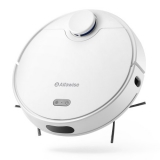 Alfawise V10 Max Laser Navigation Robot Vacuum Cleaner 2 in 1 Sweeping Mopping Auto Recharge Resumption Smart APP Control Support Alexa Google Home – White