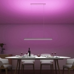 Yeelight YLDL01YL Meteorite LED Smart Dining Room Light Dinner Pendant Lights Ra95 CRI Stepless Dimming 220V 50 / 60Hz ( Xiaomi Ecosystem Product ) – White Oversea Version (entrepot EU)