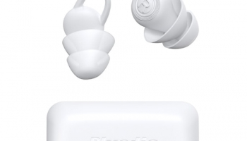 Bluedio NE Silicone Ear Plug 40dB Noise Reduction Sound Insulation Ear Protection Anti-noise Sleeping Safety Supplies – White