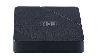 MECOOL KH3 Android 10.0 Smart 4K 60fps TV Box – Black EU Plug