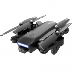 Dual Camera HD 4K Folding RC Drone Four-axis Aircraft – 5G 4K Optical Flow GPS Version Of The Black + Steering Gear