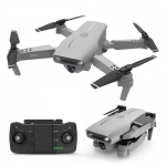 Y535 Folding GPS Drone Aerial Photography Double Camera HD 4K Remote Control Aircraft Four Axis – Gray 4k dual camera GPS positioning + optical flow version