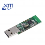 Wireless Zigbee CC2531 Sniffer Bare Board Packet Protocol Analyzer Module USB Interface Dongle Capture Packet Module 2531 – green