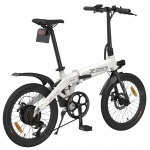 Himo Z20 Fold Electric Bicycle 36V Lithium Battery 250w High Speed Motor Urban Folding Electric Power-assisted EBIKE Xiaomi Ecosystem Product – White Germany
