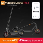 2020 Original Xiaomi Mijia Pro 2 Smart Electric Scooter Foldable Mi Hoverboard Skateboard Kick Scooter with APP 45KM Mileage – Pro