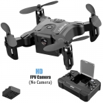Mini Drone With Without HD Camera Hight Hold Mode RC Quadcopter RTF WiFi FPV Quadcopter Follow Me RC Helicopter Quadrocopter – NO camera 1 battery