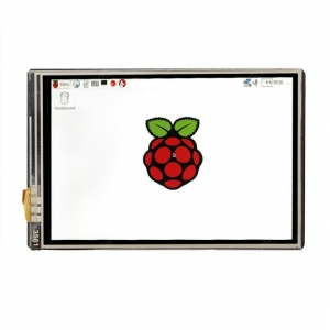 New 3.5 inch TFT LCD Display Touch Screen + ABS Case + Heat sink For Raspberry Pi 4B 3B+ 3B – Display only