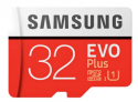 Samsung UHS-1 Class10 Micro SDHC Memory Card  –  32G  RED