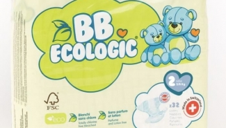 BB ECOLOGIC Couches taille 2 – 32 couches
