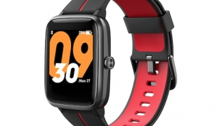Pre-Sale TicWatch Official TicKasa Vibrant Smartwatch Built-in GPS 14 Sports Mode Heart Rate Monitoring 45 Days Battery – Black Red Germany