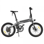Original HIMO C20 10AH Electric Moped Bicycle 25KM Per Hour 250W Motor Foldable from Xiaomi Youpin – Gray