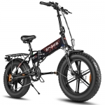 PRESALE-ENGWE EP-2 500W Folding Fat Tire Electric Bike with 48V 12.5Ah Lithium-ion Battery – Orange