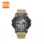 Xiaomi TwentySeventeen Smart Watch Men Electronic Watch Clock Calendar Countdown 50M Waterproof Outdoor Sport Digital Watch – Green