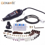 GOXAWEE 220V Power Tools Electric Mini Drill Grinder Polisher Engraver Rotary Tools kit For Dremel – China Drill with 130pcs EU