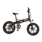 A Dece Oasis AD A1 350W Folding Fat Tire Electric Bike with 36V 10Ah Lithium-ion Battery – Black Germany (entrepot EU)
