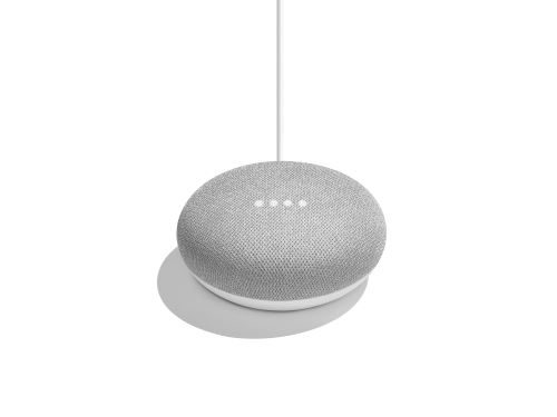 Google Home Mini Assistant Vocal Gris