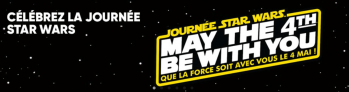 Star Wars May the force chez Fnac